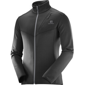 """Salomon M's Discovery FZ Jacket Black"""